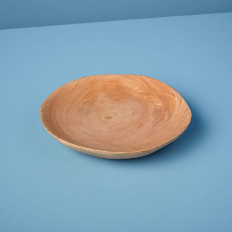 Kiln Mango Wood Plate, Small