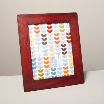 Reclaimed Wood Frame, Red