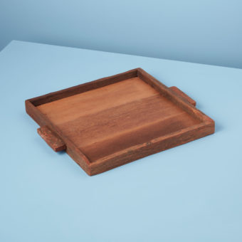 Reclaimed Wood Tray Rectangular, Small