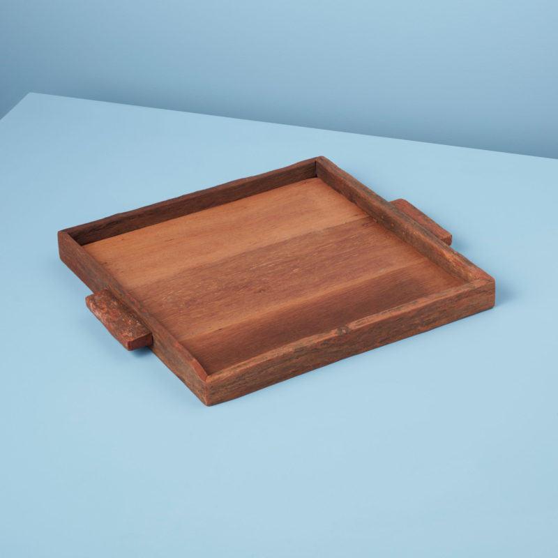Reclaimed Wood Tray Square Large