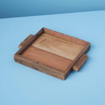 Reclaimed Wood Tray Rectangular, XL