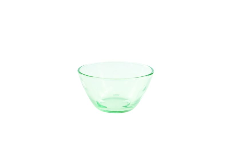 Recycled Glass Dots Bowl