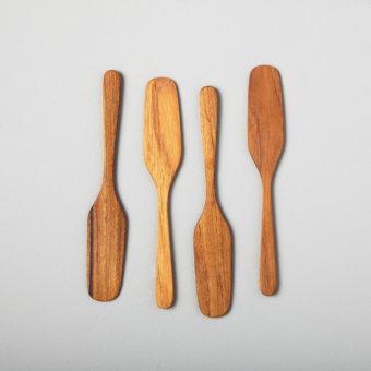 Seashell Spoons, Mini Set of 4