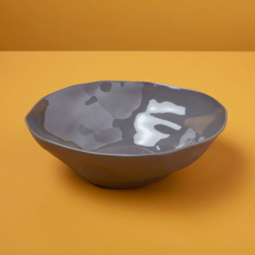 Stoneware Bowl, Slate, Medium
