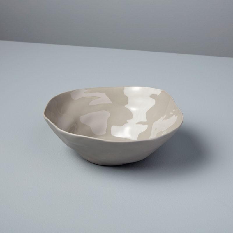 Stoneware Bowl, Sterling, Medium