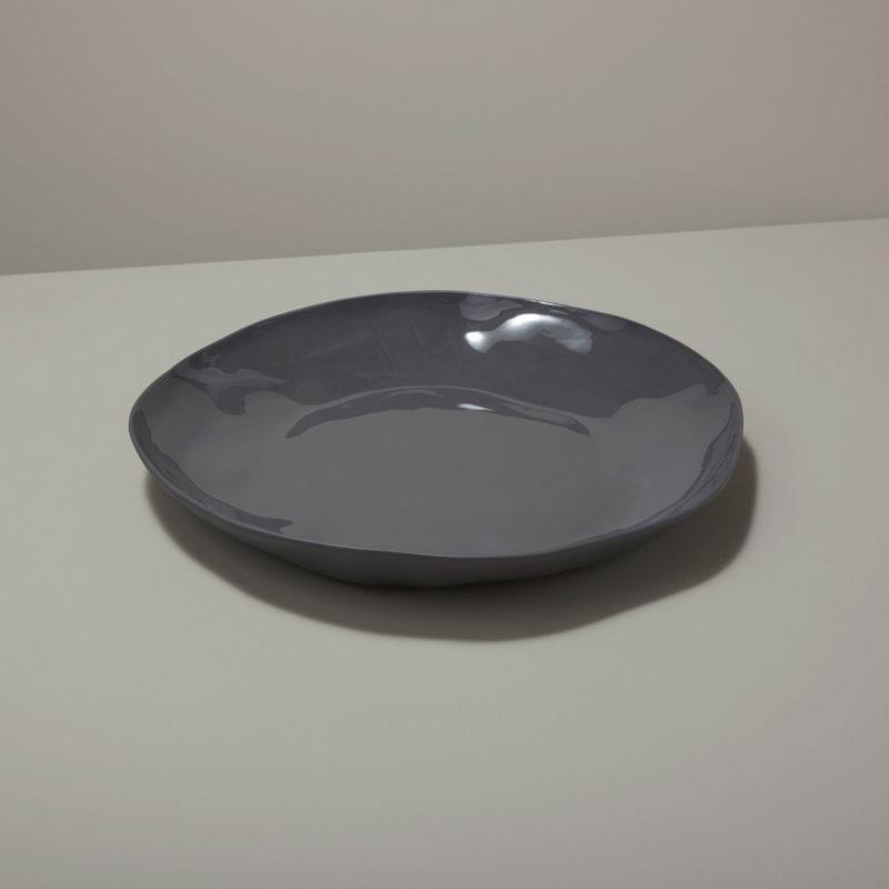 Stoneware Platter Slate
