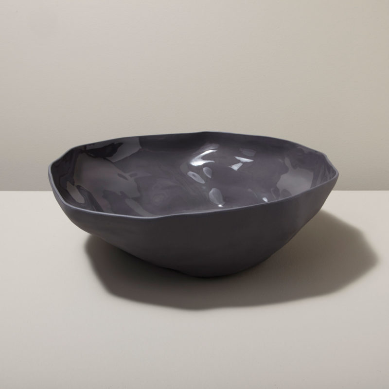 Stoneware Serving Bowl, Slate