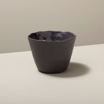 Stoneware Tumbler Slate, Small