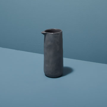 Stoneware Pouring Carafe, Slate