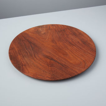 Teak Oval Board with Handle, Large
