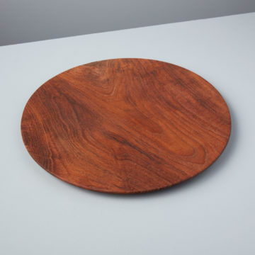 Teak Round Plate, Large