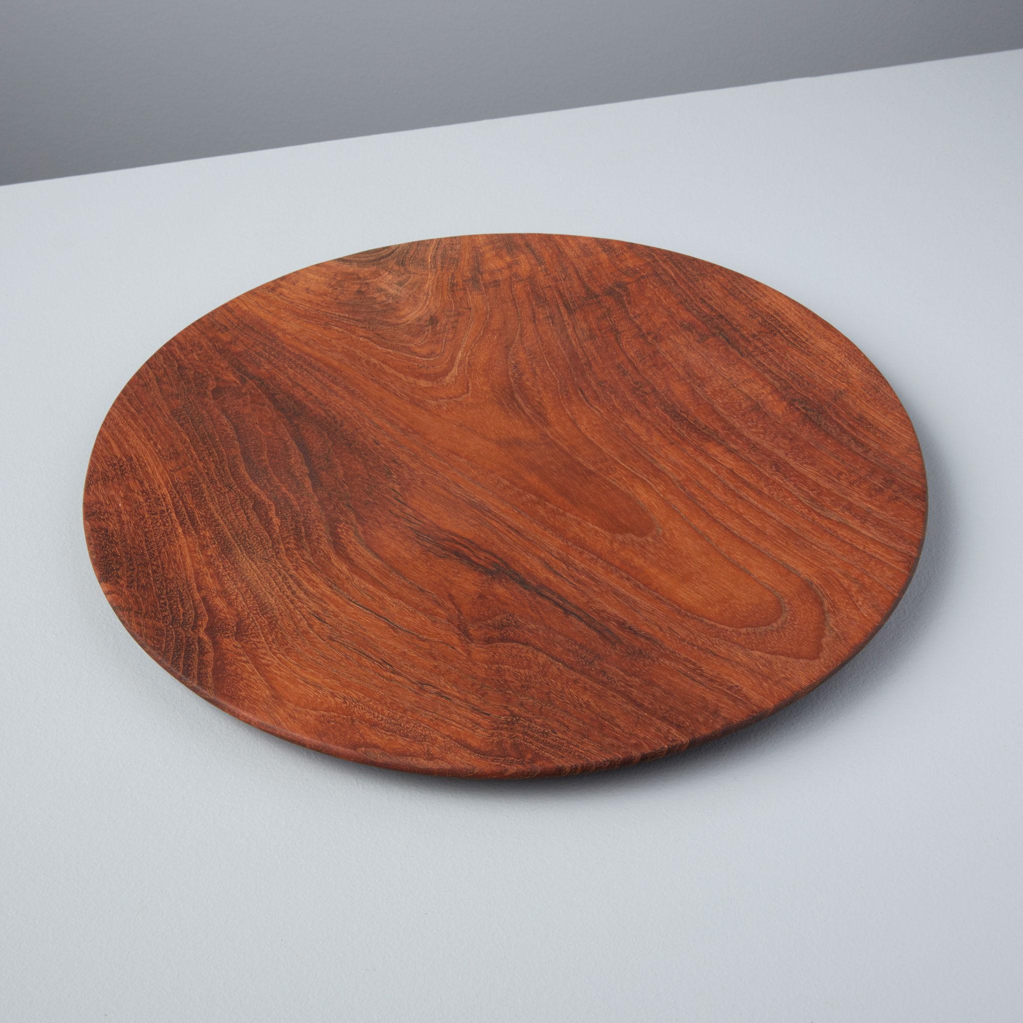 Be-Home_Teak-Dinner-Plate-Large_10-02