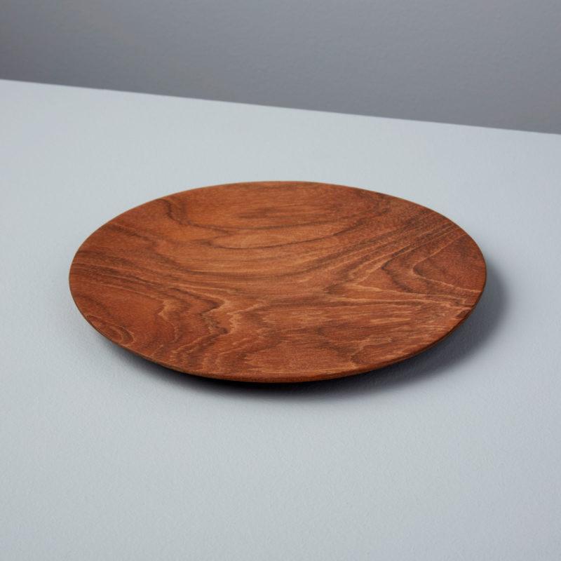 Teak Round Plate, Small