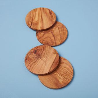 Olive Wood Natural Shape Board, Medium
