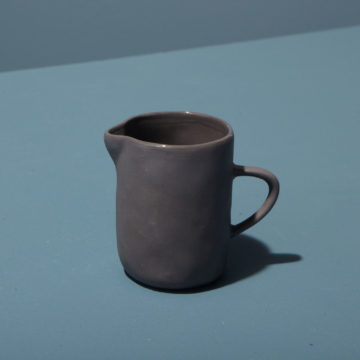 Stoneware Creamer, Slate