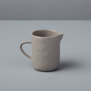 Stoneware Creamer, Sterling