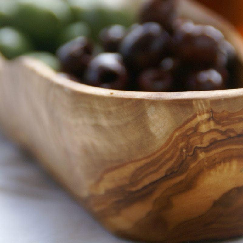 Olive Wood Oval Dish, Large