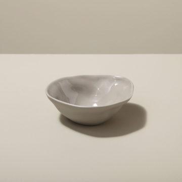 Stoneware Pinch Bowl, Sterling