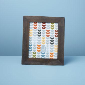 Reclaimed Wood Frame, Black