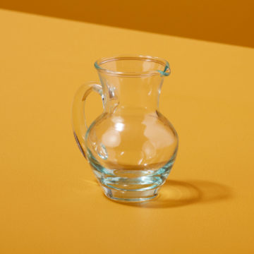 Recycled Glass Pitcher Mini