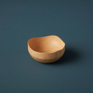 Kiln Mango Wood Wave Edge Bowl, Mini