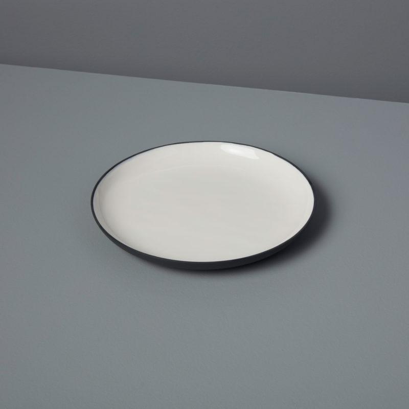 Aluminum & Enamel Round Platter, Small