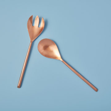 Matte Copper Serving Set