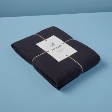 Linen Tablecloth Black