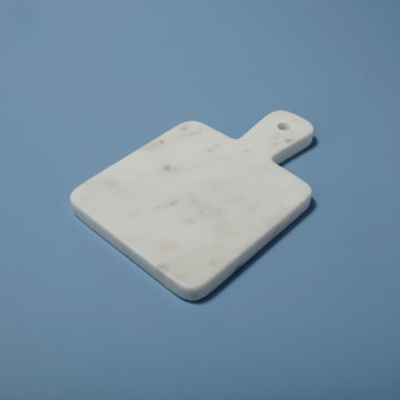 White Marble Mini Board, Square