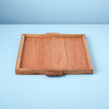 Reclaimed Wood Tray Square, XL