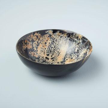 Splatter Horn Bowl, Large