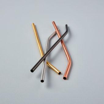 Rosé Thin Mini Spoons, Set of 4