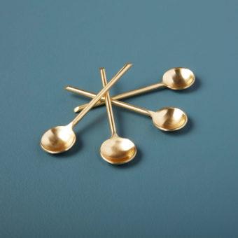 Rosé Thin Spoons, Set of 4