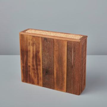 Reclaimed Wood Knife Block, Medium