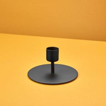 Black Taper Candle Holder