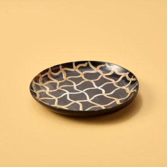 Splatter Horn Plate, Medium