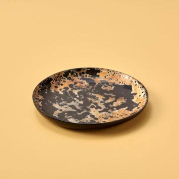 Splatter Horn Plate, Small