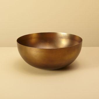 Cobbled Antique Bronze Bowl, Large