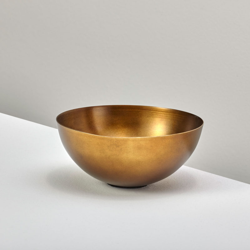 Cobbled Aged Bronze Bowl, Small