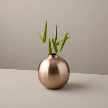 Rosé Spherical Vase, Small