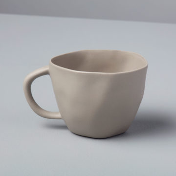 Stoneware Cappuccino Cup, Sterling