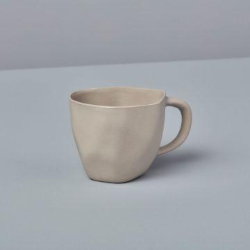 Stoneware Demitasse Cup, Sterling