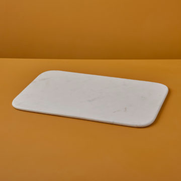 White Marble Pastry Slab, Large