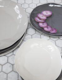 Stoneware Plate Sterling, Medium 5