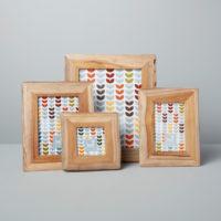 Reclaimed Wood Frame, Light 2