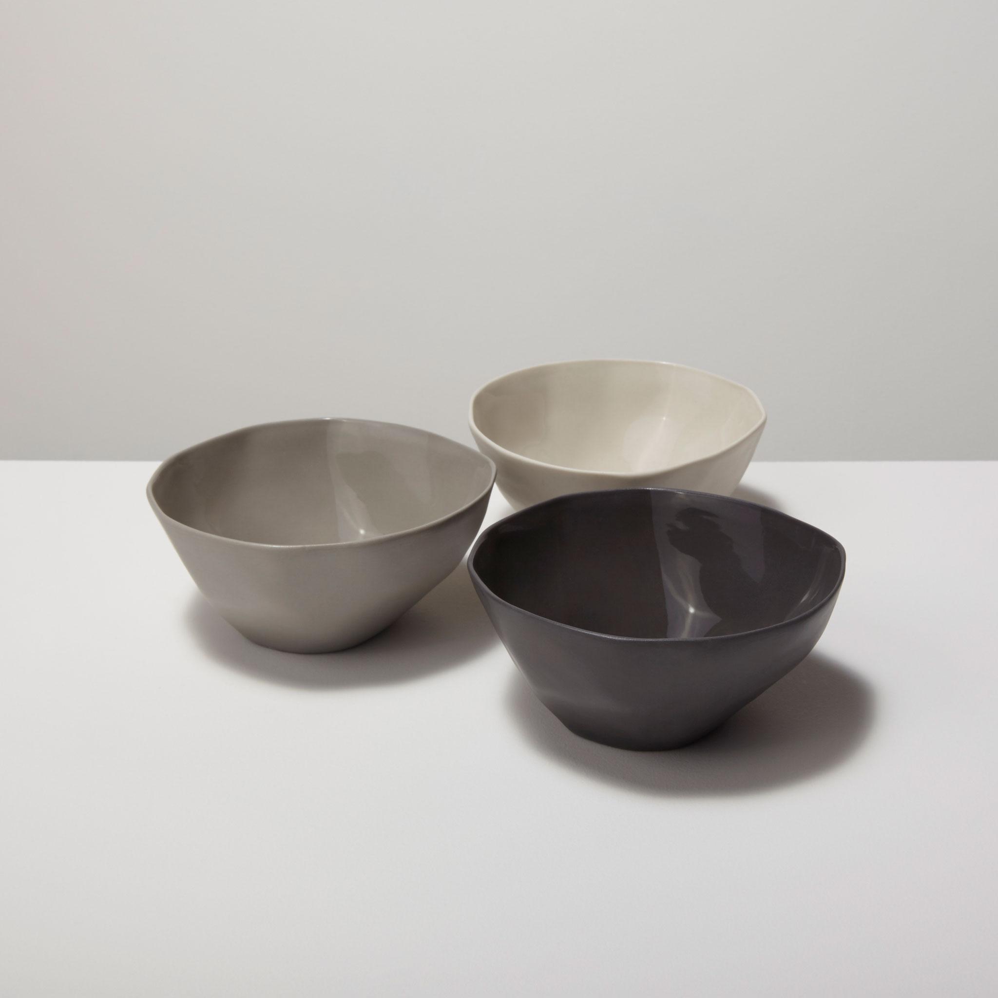 Stoneware Bowl Slate, Small 3