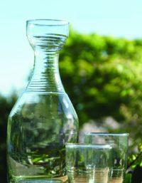 Recycled Glass Ripple Tumbler, Short 2
