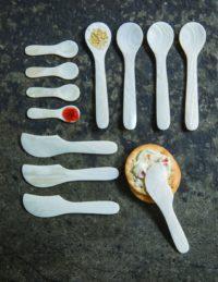 Seashell Spoons Large, Set of 4 2