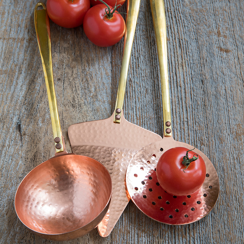 Matte Copper Cheese Set of 3