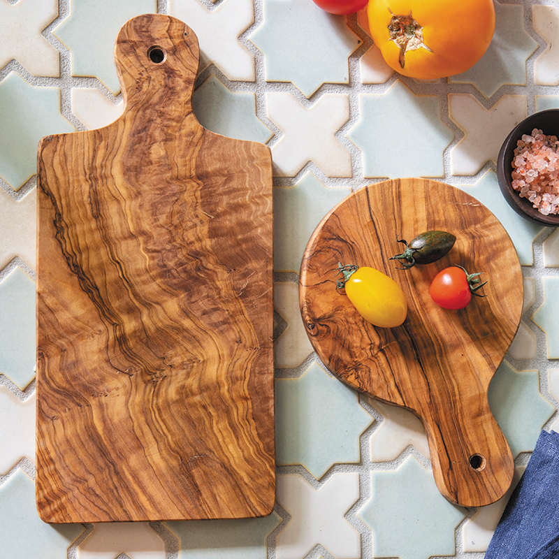 Mango Wood with Bark Rectangular Platter